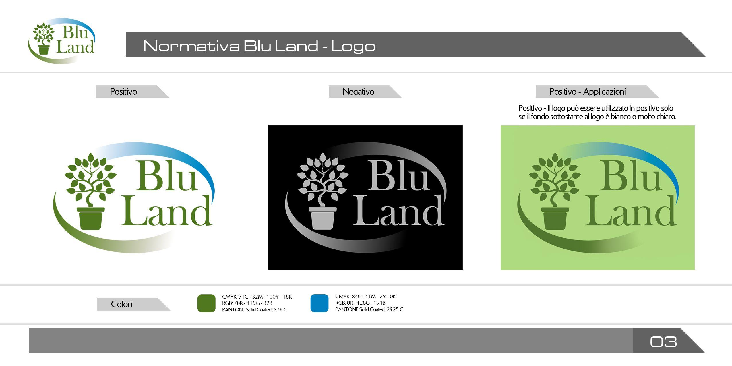 info blu land normativa sull uso corretto del logo committente