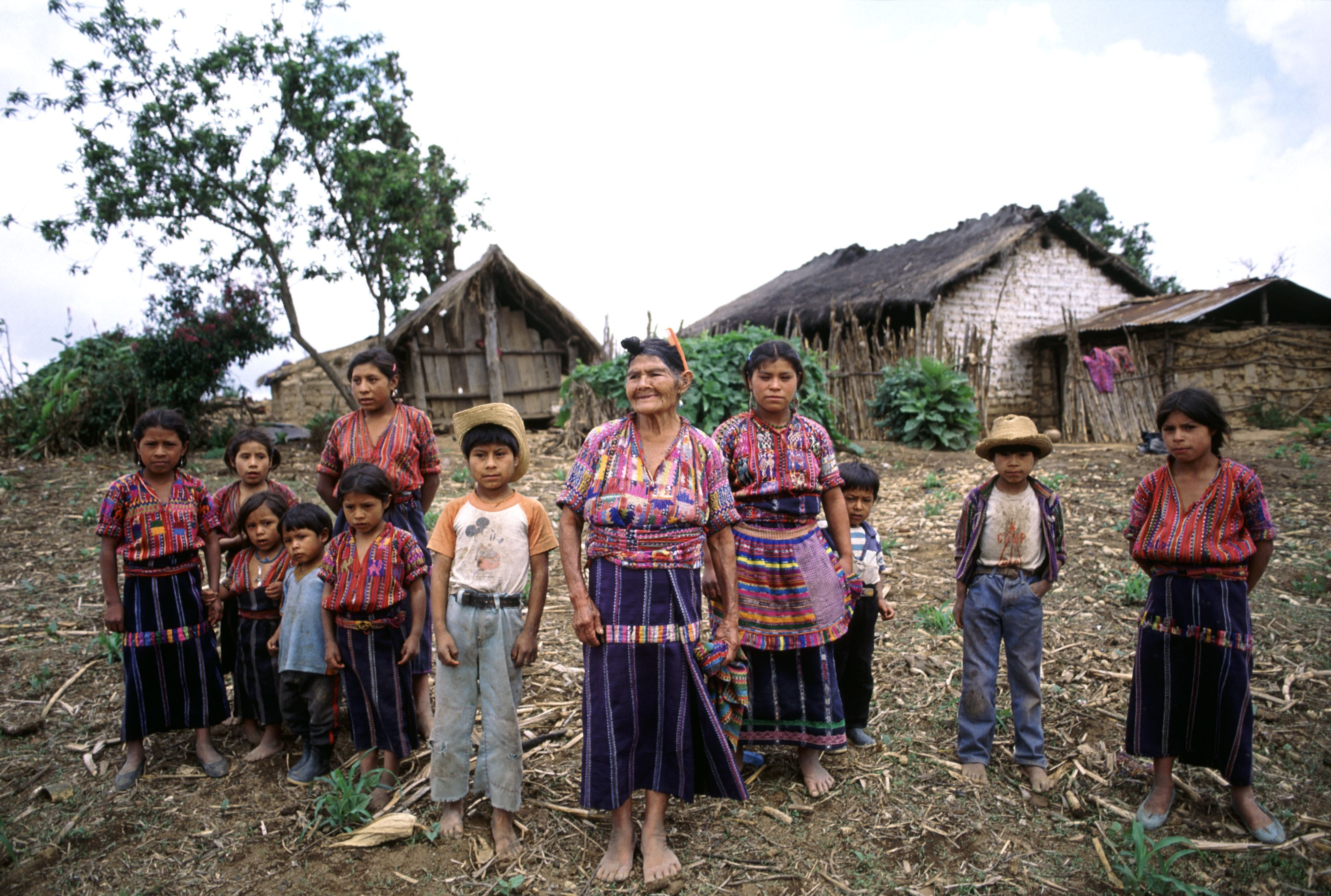 A Cakchiquel Maya Family In The Hamlet Of Patzutzun Guatemala 27  # Muebles En Kaqchikel