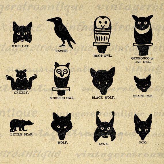 Fox Indians Symbols Clipart Library