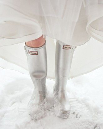 Having a winter wedding? Beat the snow is these silver metallic ...