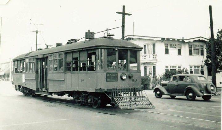 Los Angeles Trolly 1940s