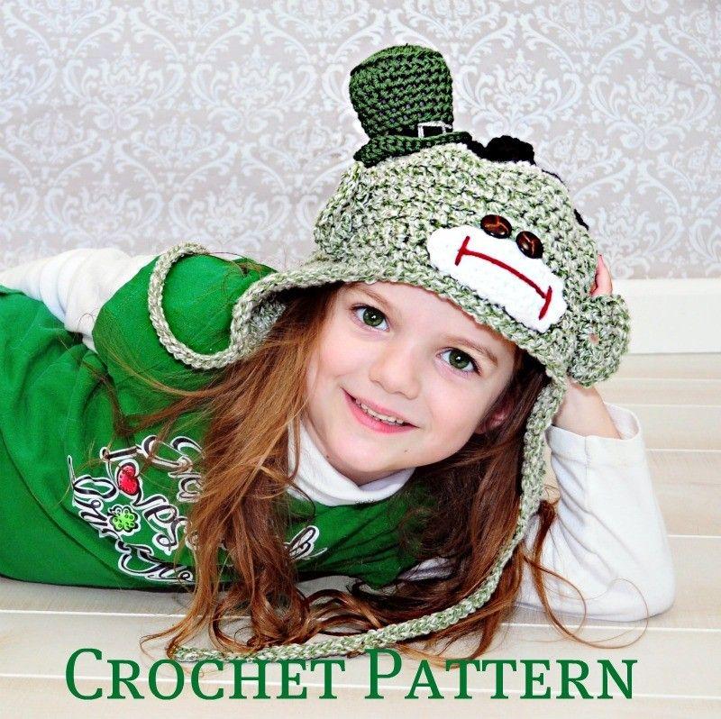 Pin By Jocelyne Boulay On Sock Monkey And Baby Bonnet Pinterest