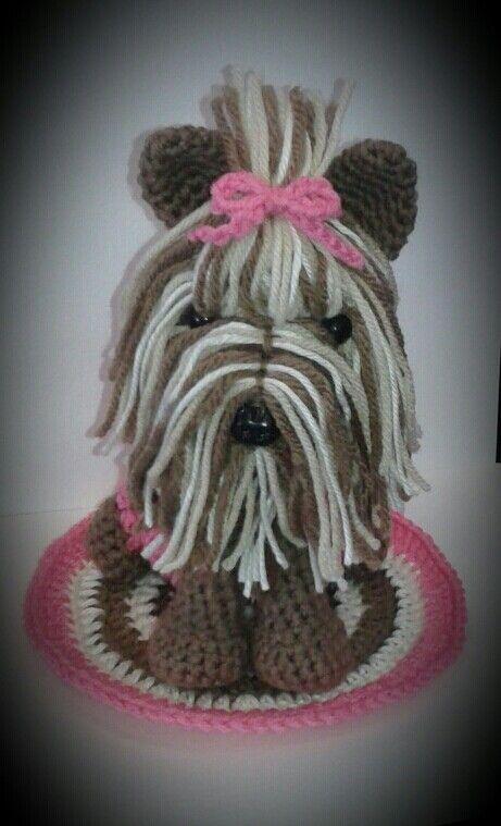 Amigurumi Yorkie Tutorial Pattern in 2020 | Hund häkeln, Puppe ... | 759x461