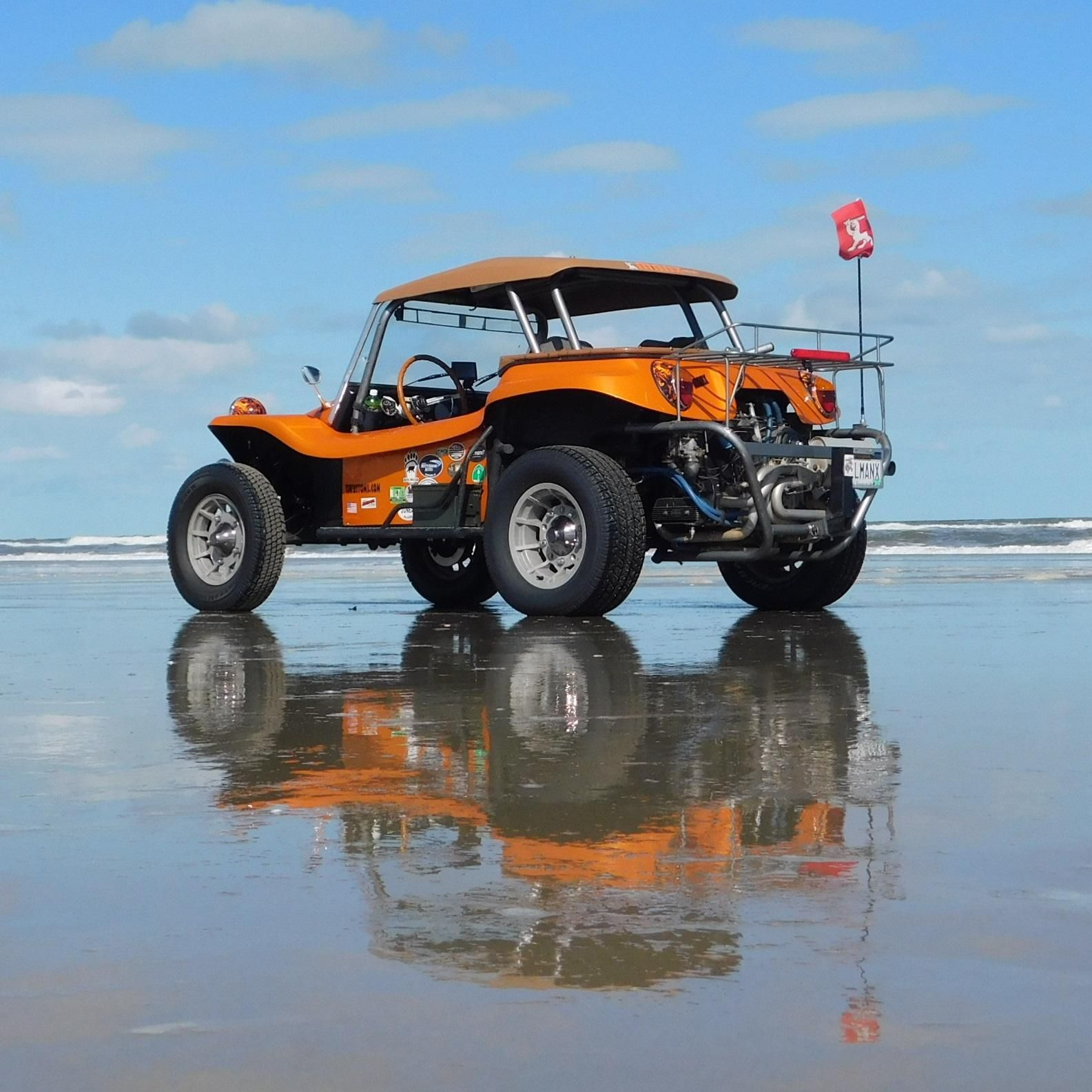 Buggy On The Beach At Manx On The Banx '16