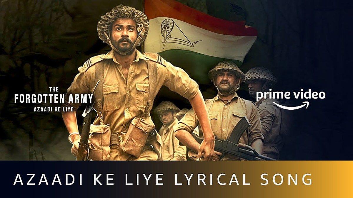 Azaadi Ke Liye Lyrics Arijit Singh In 2020 Song Lyrics Songs