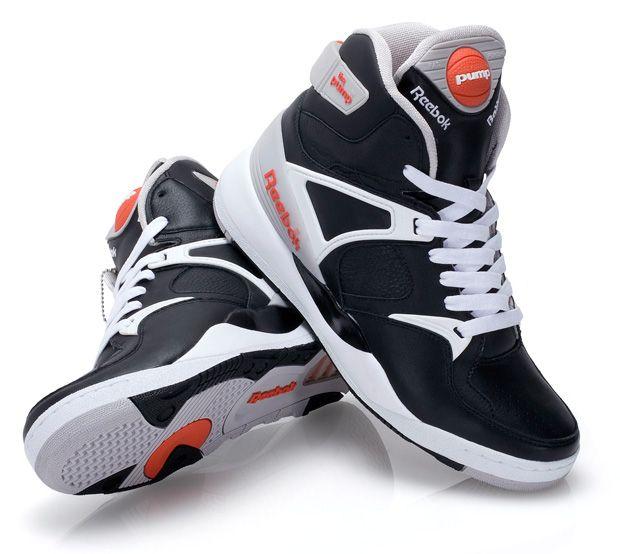 retro reebok pump trainers shoes