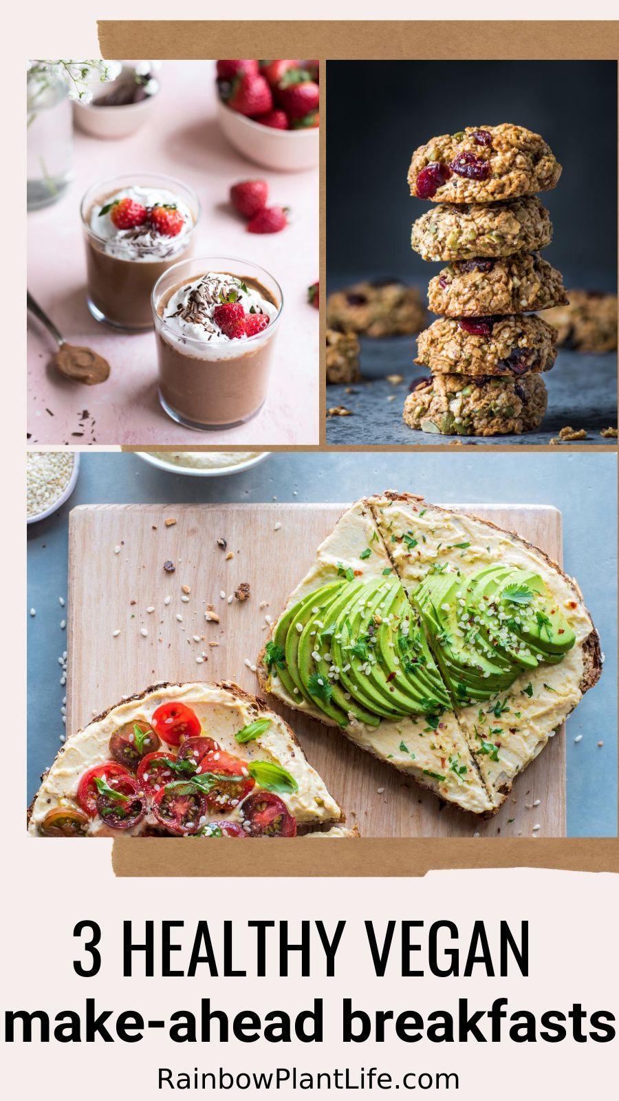 Make Ahead Breakfasts Vegan Gluten Free Oil Free Rainbow Plant Life In 2020 Make Ahead Breakfast Vegetable Recipes Vegan Instant Pot Recipes