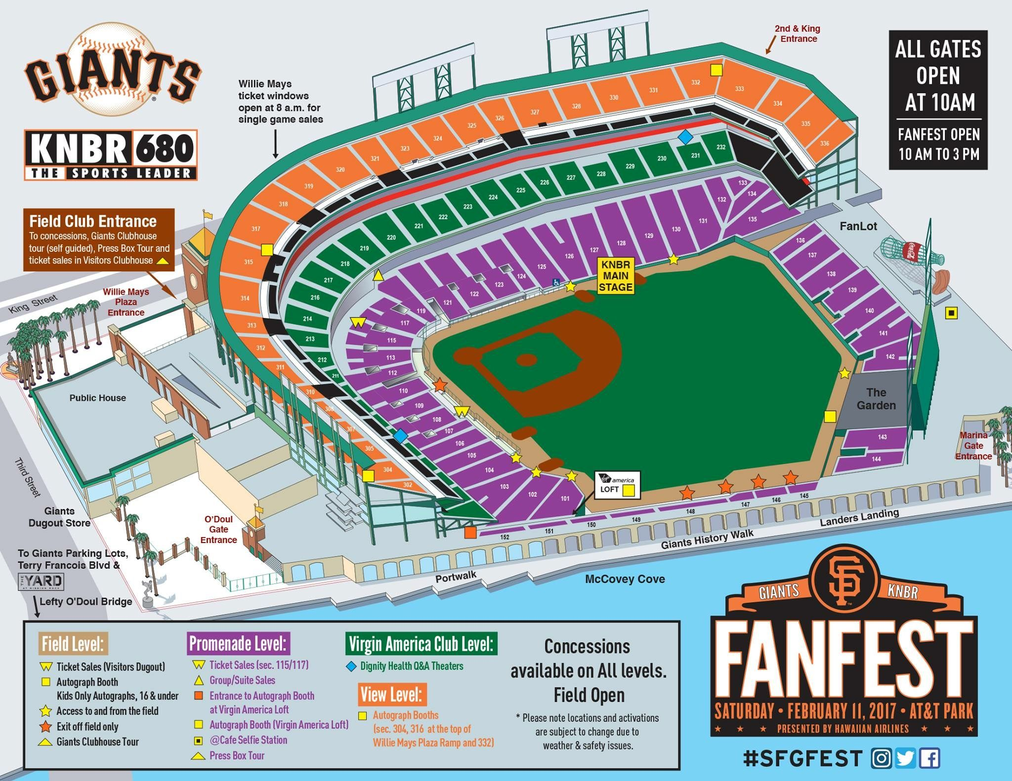 Giants Baseball Stadium Seating