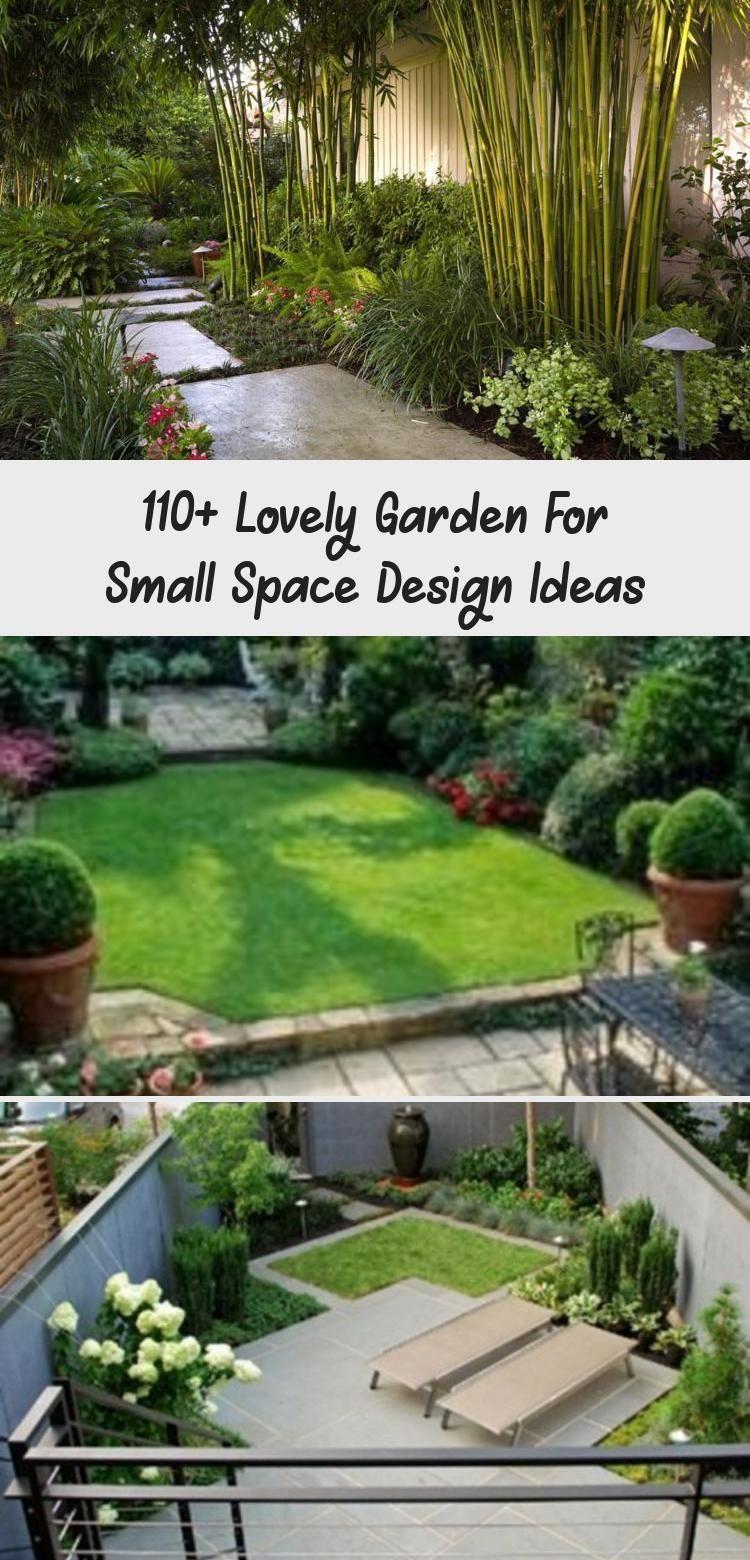 110 Lovely Garden For Small Space Design Ideas Pinokyo Backyardplantsdesignsmallspaces Backyard Small Space Design Space Design Small space backyard garden ideas