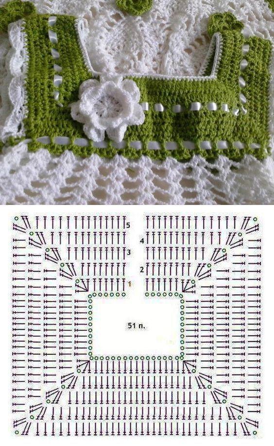 How to Crochet a Bodycon Dress/Top #vestidosparabebédeganchillo