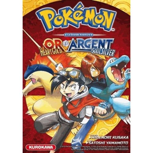 Pokemon La Grande Aventure Or Et Argent Manga Bd