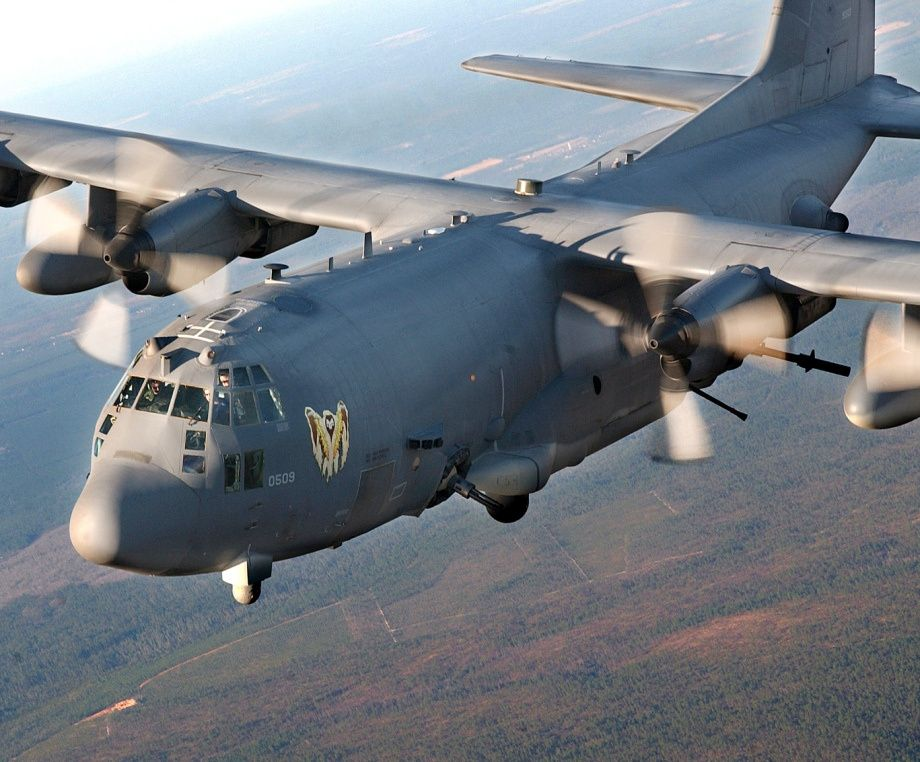 ac 130 specter gun ship also known as the angel of death or the