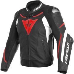 Dainese Super Speed 3 Motorrad Lederjacke Schwarz Weiss Rot 46 Dainesedainese #leatherjacketoutfit