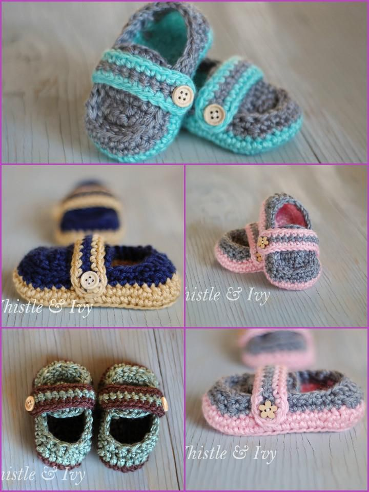 Top 40 Free Crochet Baby Booties Patterns | Bebe, Zapatos y Zapatillas