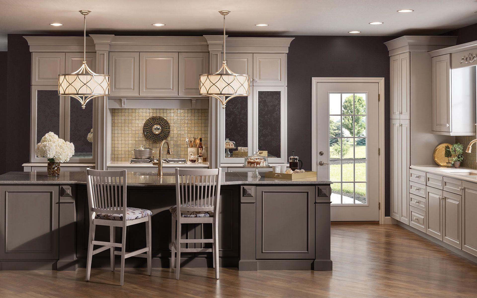 Merillat Custom Kitchen Cabinets Cowlitz County Washington Mc T Construction Merillat Cabinets Grey Kitchen Cabinets Kitchen Design Trends