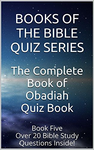 Book of Obadiah Explained - bible-studys.org