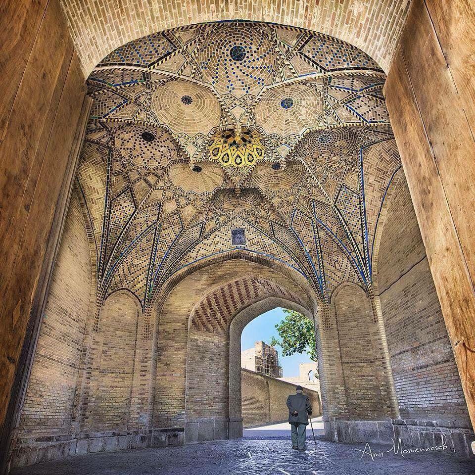 Amazing Iranian Architecture Historical Bazaar Of Qazvin Iran Photographer Amir Momennasab Persian Architecture Iranian Architecture Persian Empire