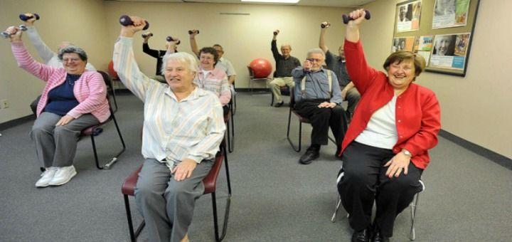 Senior Chair Exercises sitting