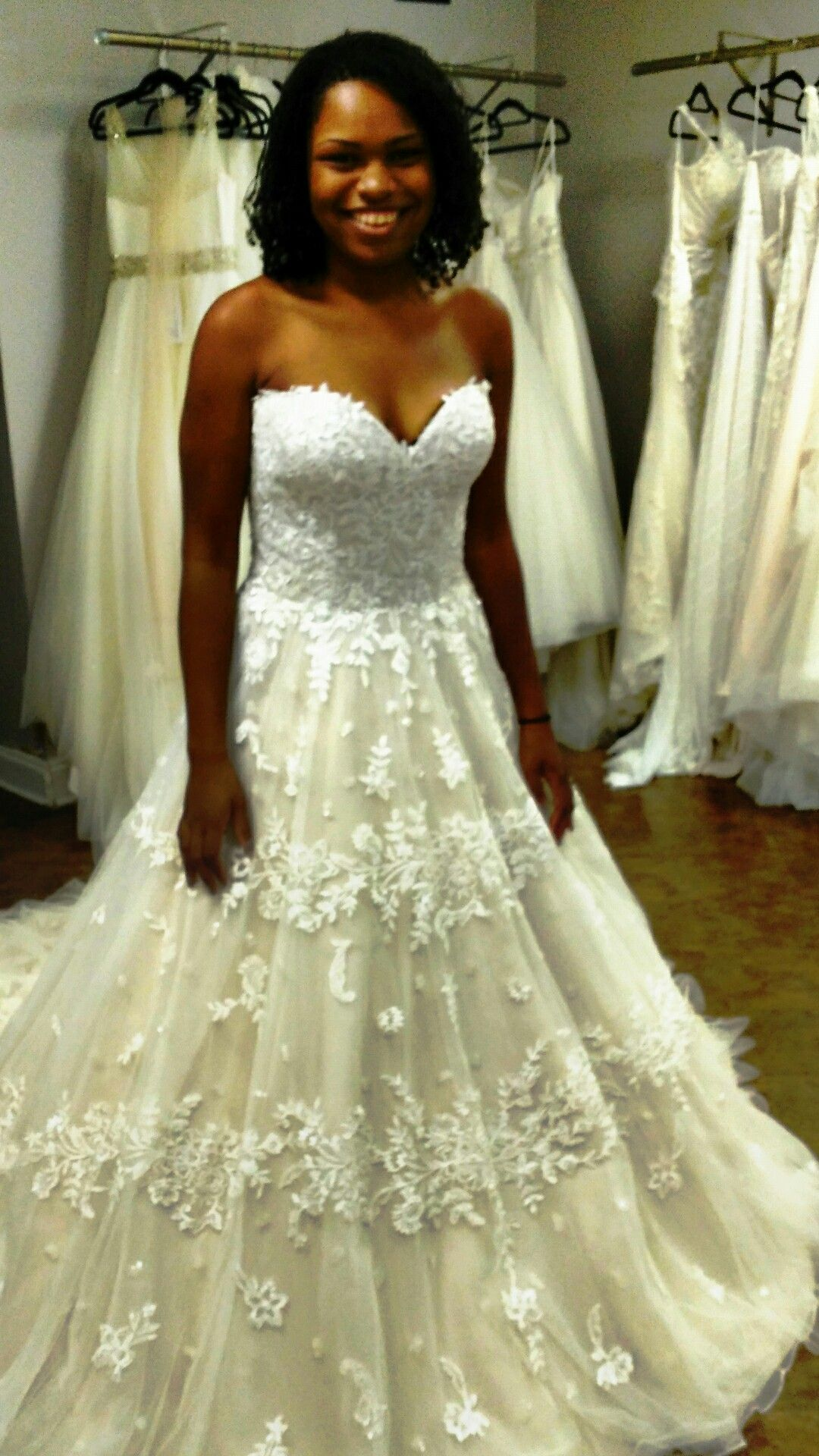 Lillian West Bridal A-line lace ball gown at Absolute Haven Bridal ...