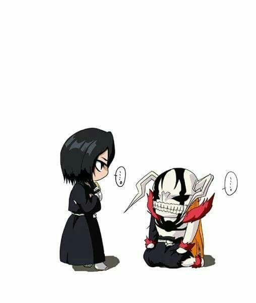Fully Hollow Ichigo in trouble with Rukia   Bleach/Ichigo&Rukia ...