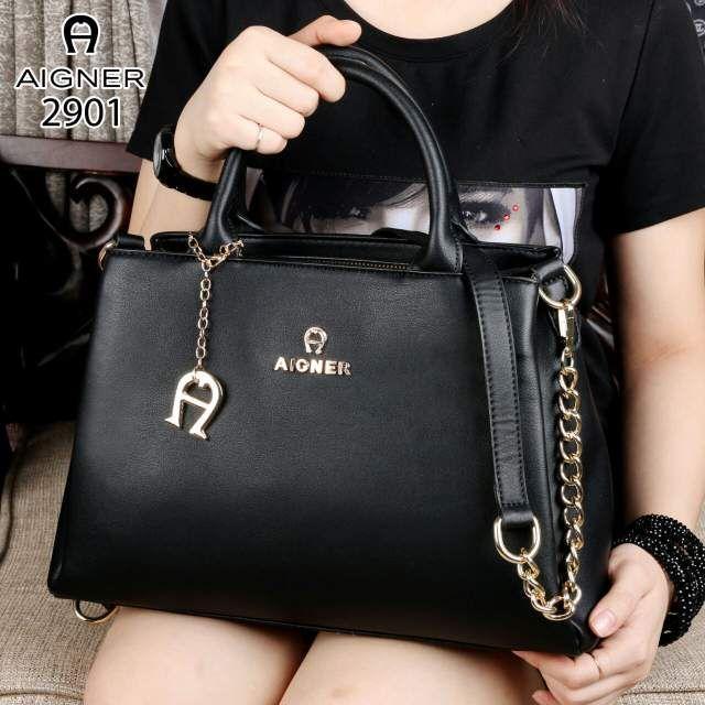 Tas Wanita AIGNER Modelista 7638 Like Ori Leather Hardware  11780b5418