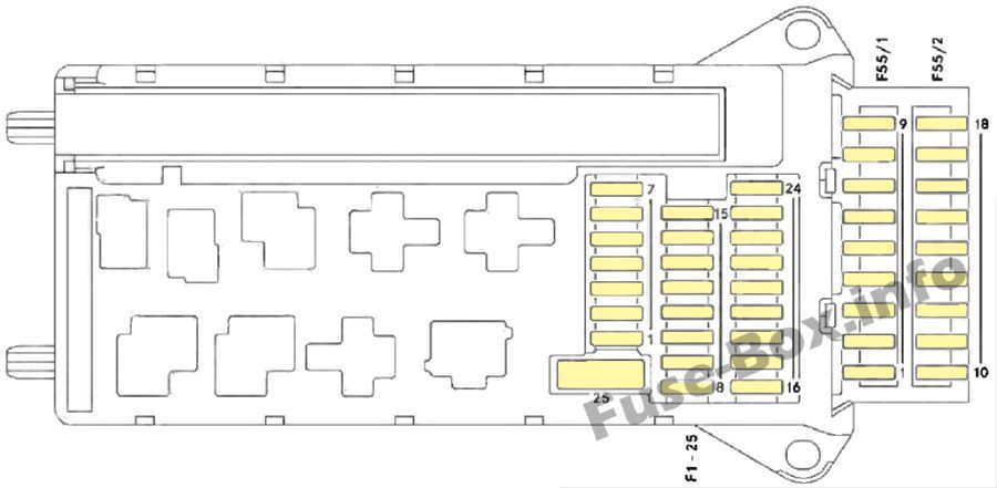Instrument Panel Fuse Box Diagram  Dodge Sprinter  2007