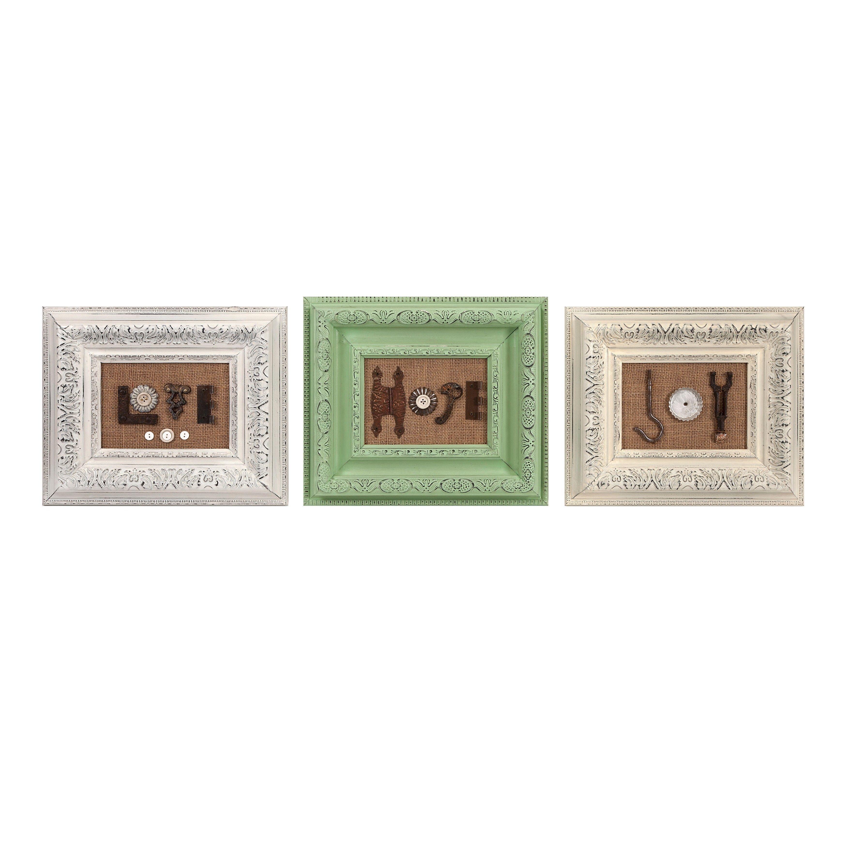 Imax Ella Elaine Found Object Frames - Ast 3 (Frames), Multi, Size ...