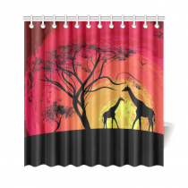 Interestprint African Safari Animal Home Decor Tree Of Life Sunset