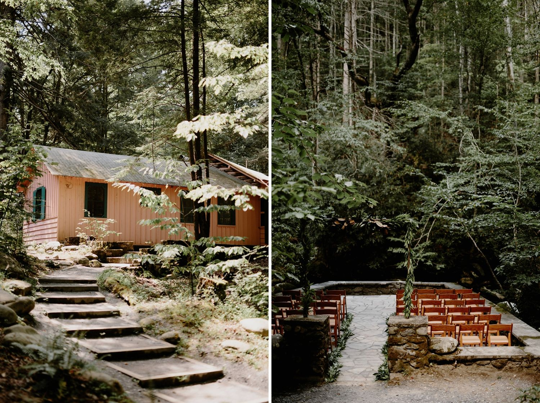 Smoky Mountain Wedding Spence Cabin Nashville Photographers Bradandjen