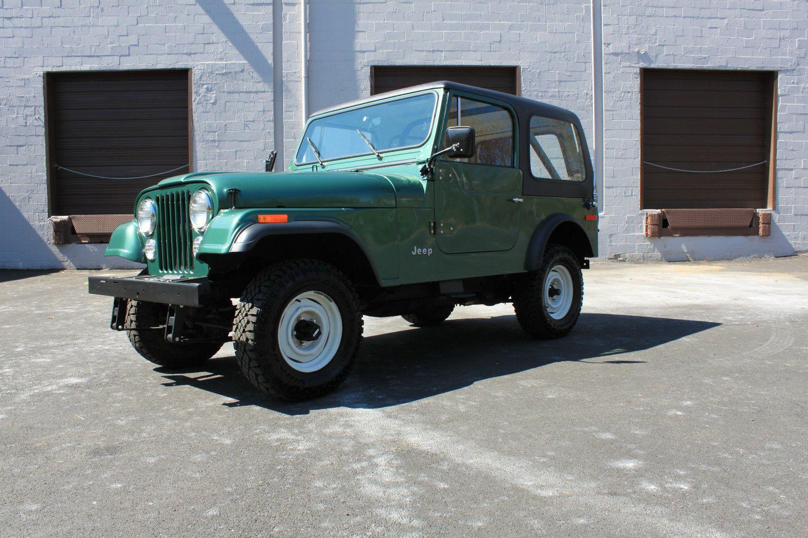 Car Brand Auctioned Jeep Cj 1979 Jeep Cj7 Hardtop 4x4 Manual
