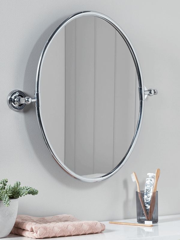 French Oval Mirror Luxury Bathroom Accessories Decorative Home Accessories Luxury Homeware Wa Oval Mirror Bathroom Oval Mirror Wall Mirrors With Storage