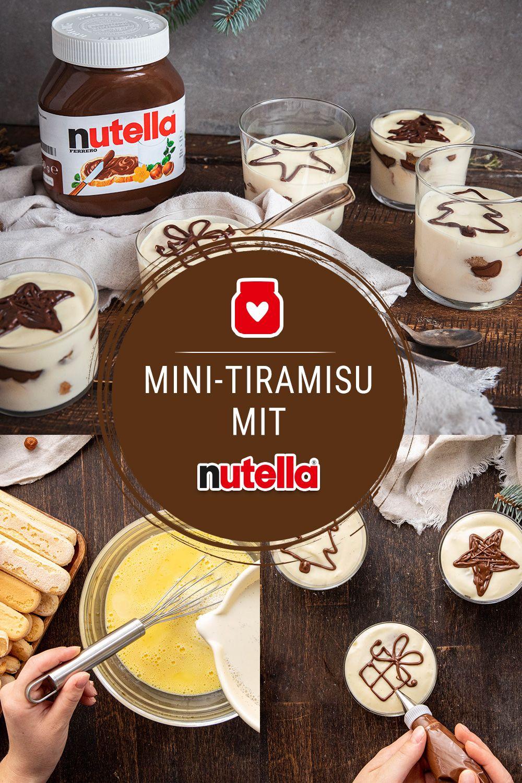 Mini-Tiramisu mit nutella #recipeforbananapudding