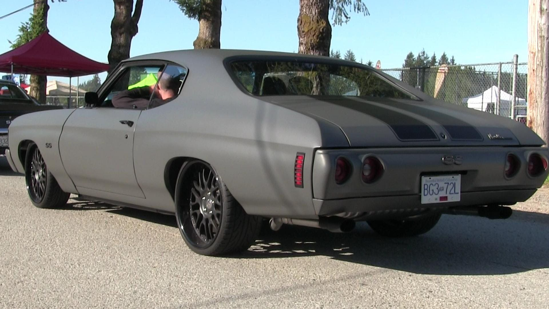 1969 Chevelle Matte Black #muscle #car | Classic cars ...