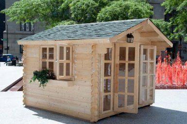 """Storage Garden Shed """"Brighton"""" Construccion"""