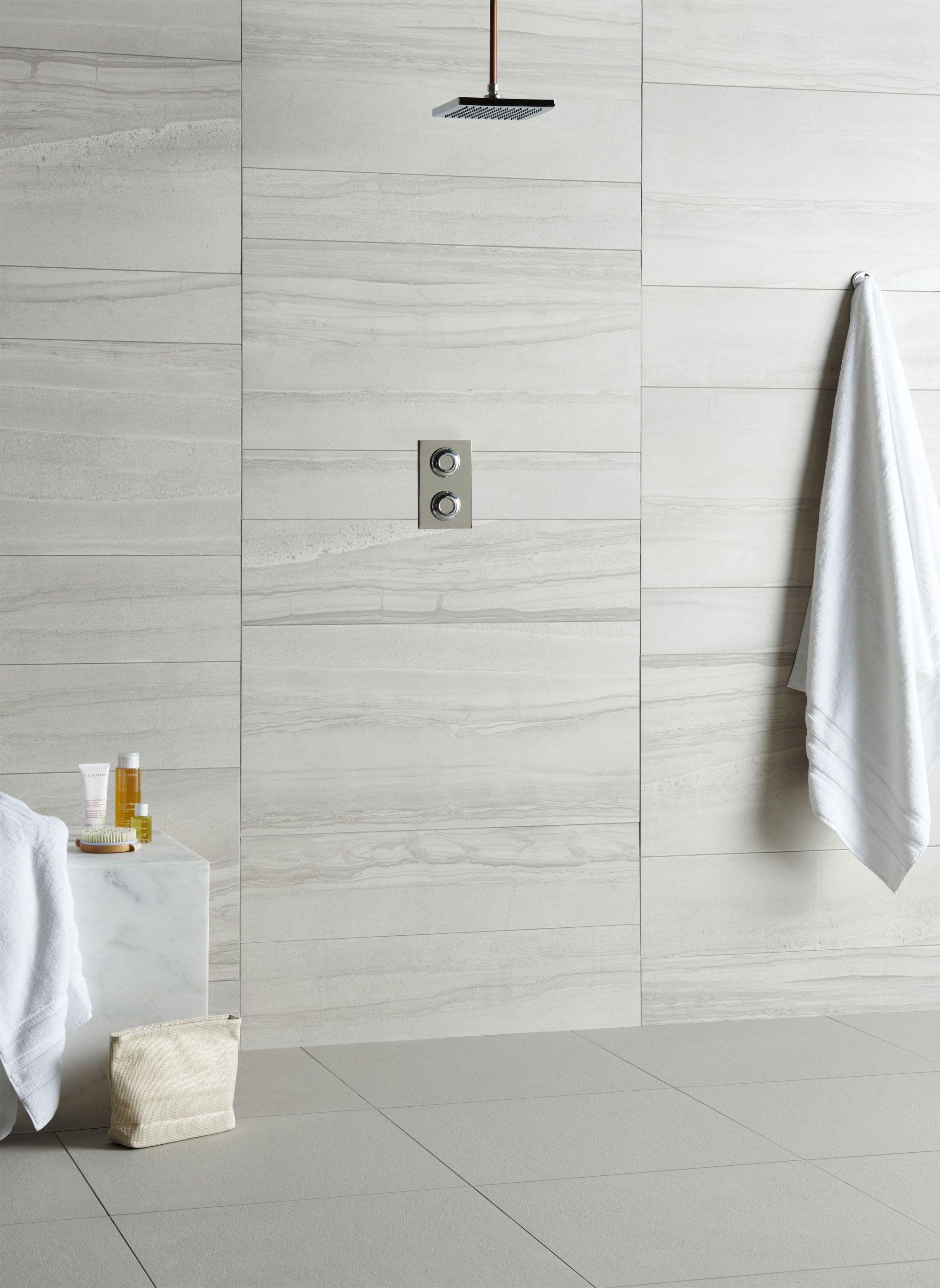 Amelia White Porcelain Tile | Pinterest | Amelia, Walls and Grey tiles