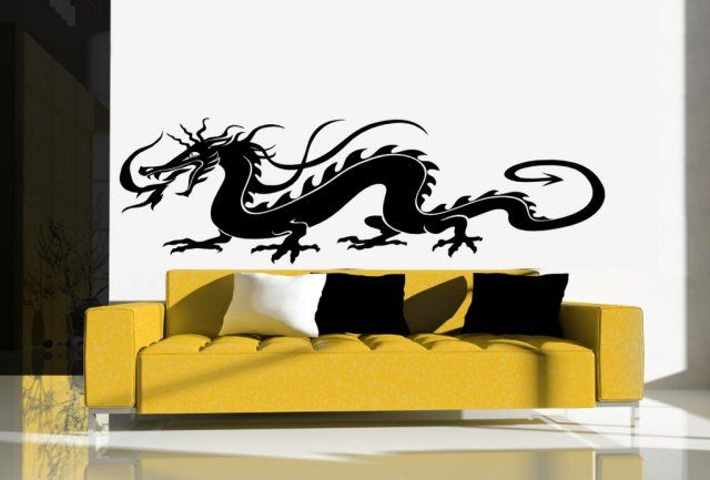 Traditional Chinese Dragon Huge Wall Car Sticker Wall Stickers Store Uk Shop With Wall Stickers Wal Vinyl Wall Stickers Wall Stickers Wall Vinyl Decor