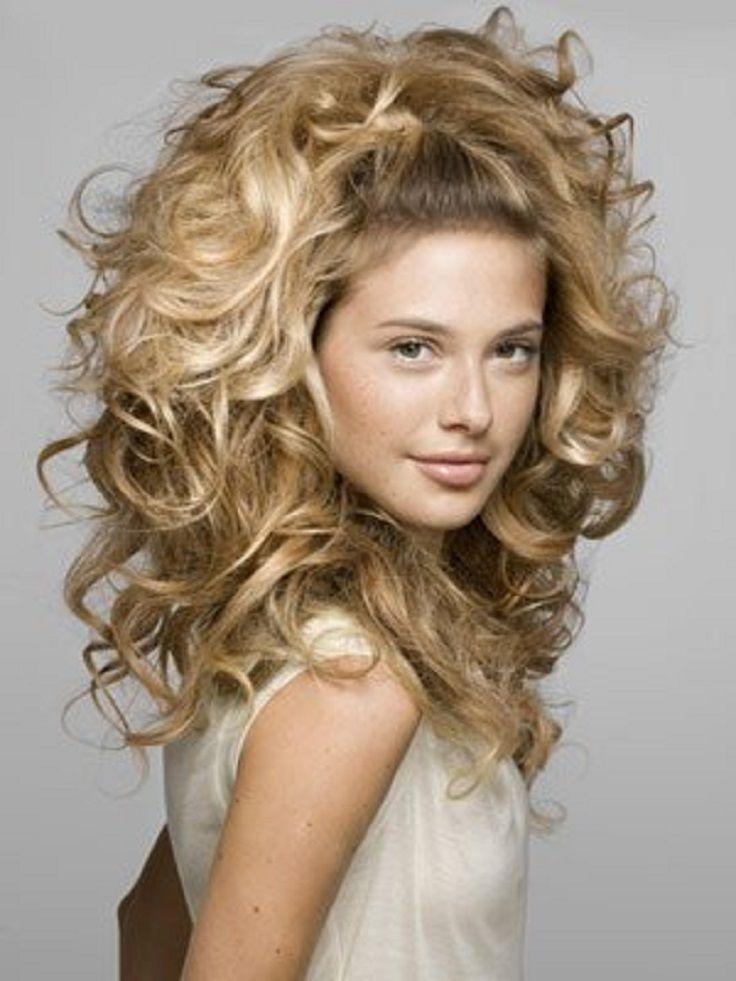 Top 10 Curly Hairstyle Tutorials Cosas Para Ponerme Pinterest