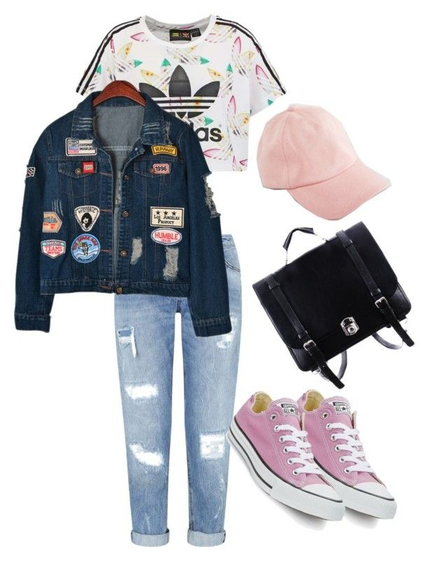 """Untitled #34"" by missophiehopper on Polyvore featuring adidas Originals, Converse, Miss Selfridge, ASOS and Chicnova Fashion"