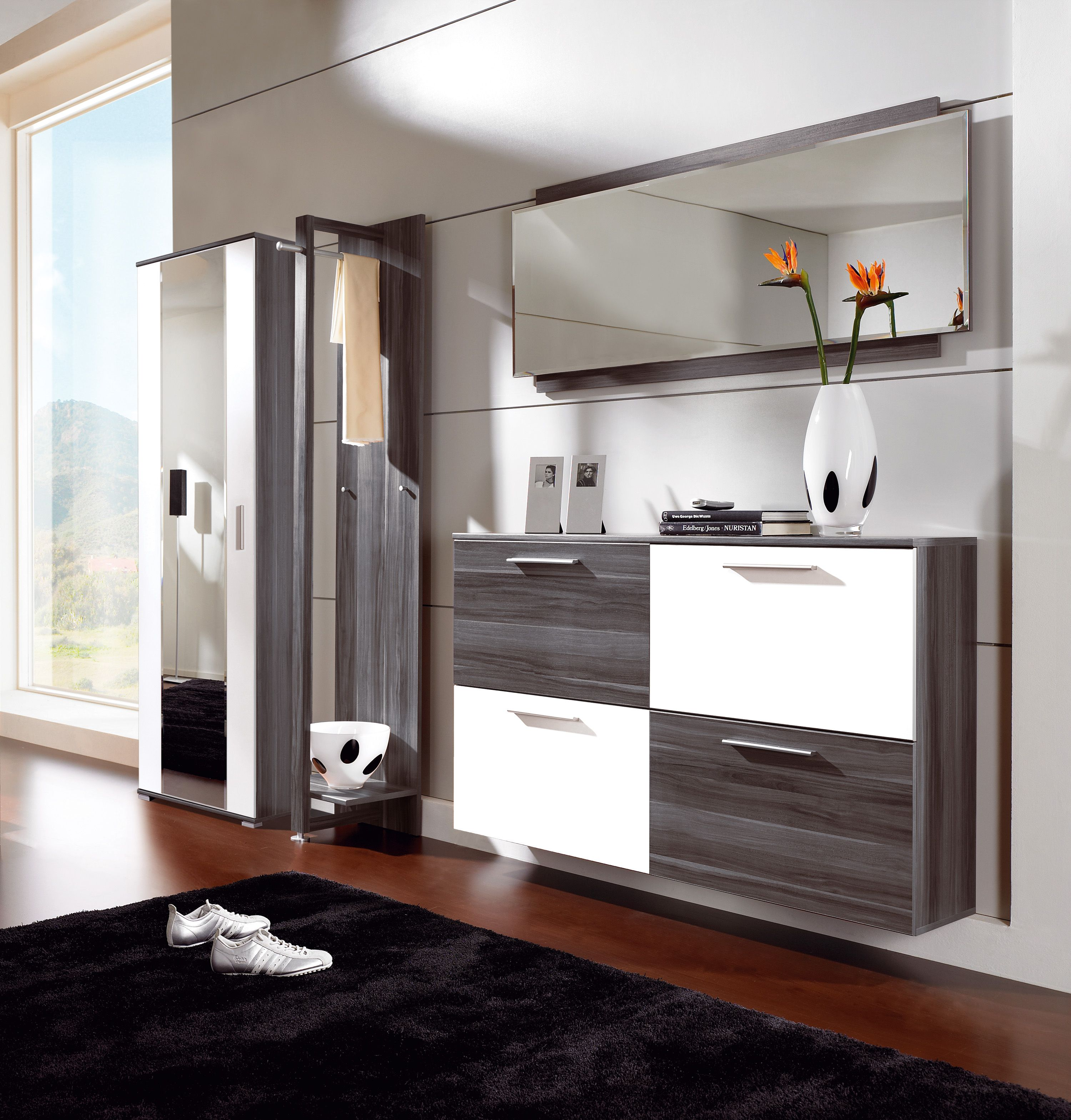 Living Room Storage Systems: Living-room : Guidelines On Useful Shoe Cabinets For The