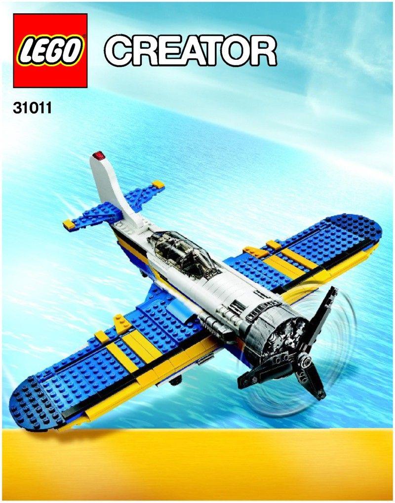 Creator Aviation Adventures Lego 31011 Lego Instructions To