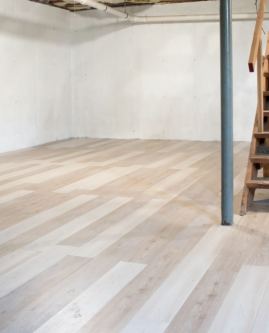 Installing Luxury Vinyl Plank Flooring First Phase of