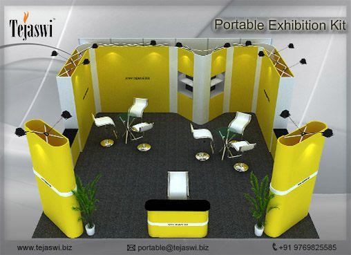 Portable Exhibition Kit : Portable exhibition kit at its best portable exhibition