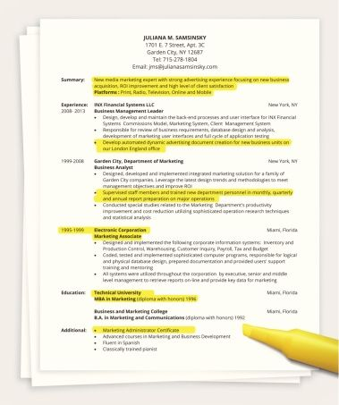 Need a new job for the new year? Start updating your resume using - what a resume
