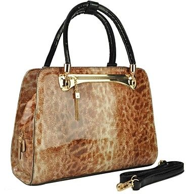 Women��s Fashion Leopard Tote
