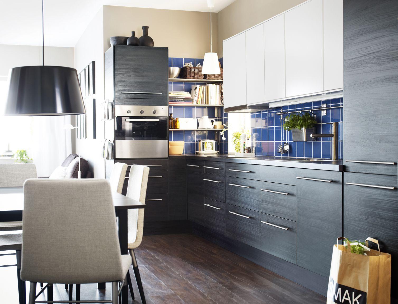 Elegant Ikea Sterreich Inspiration Kche Front Appld Wandschrank Faktum  Hngeleuchte Kulla With Ikea Kjkken Faktum With Kche