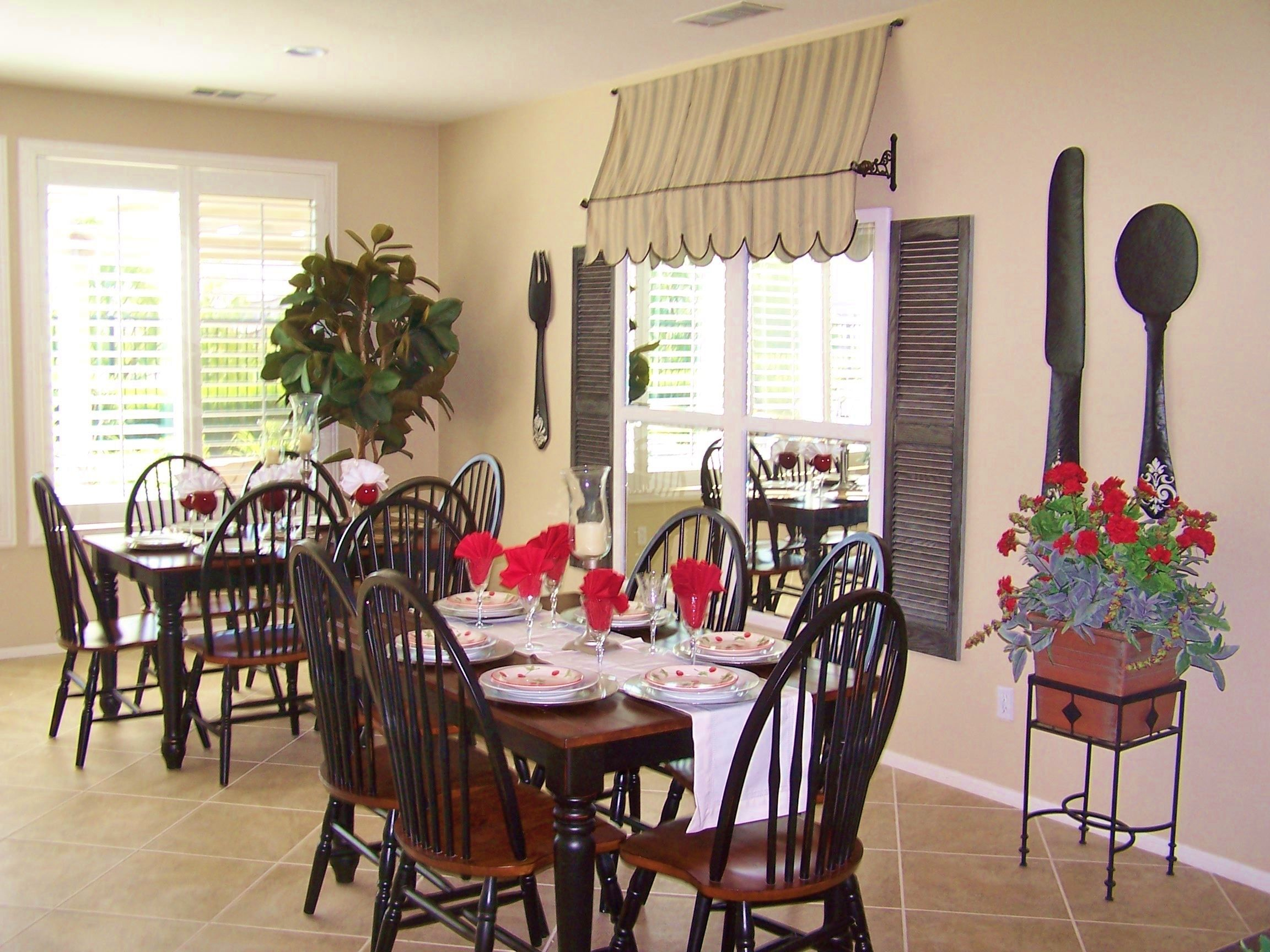 Dining Room Love The Awning Cafe Style