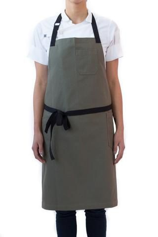 hedley /& bennett Olive Apron Olive USA