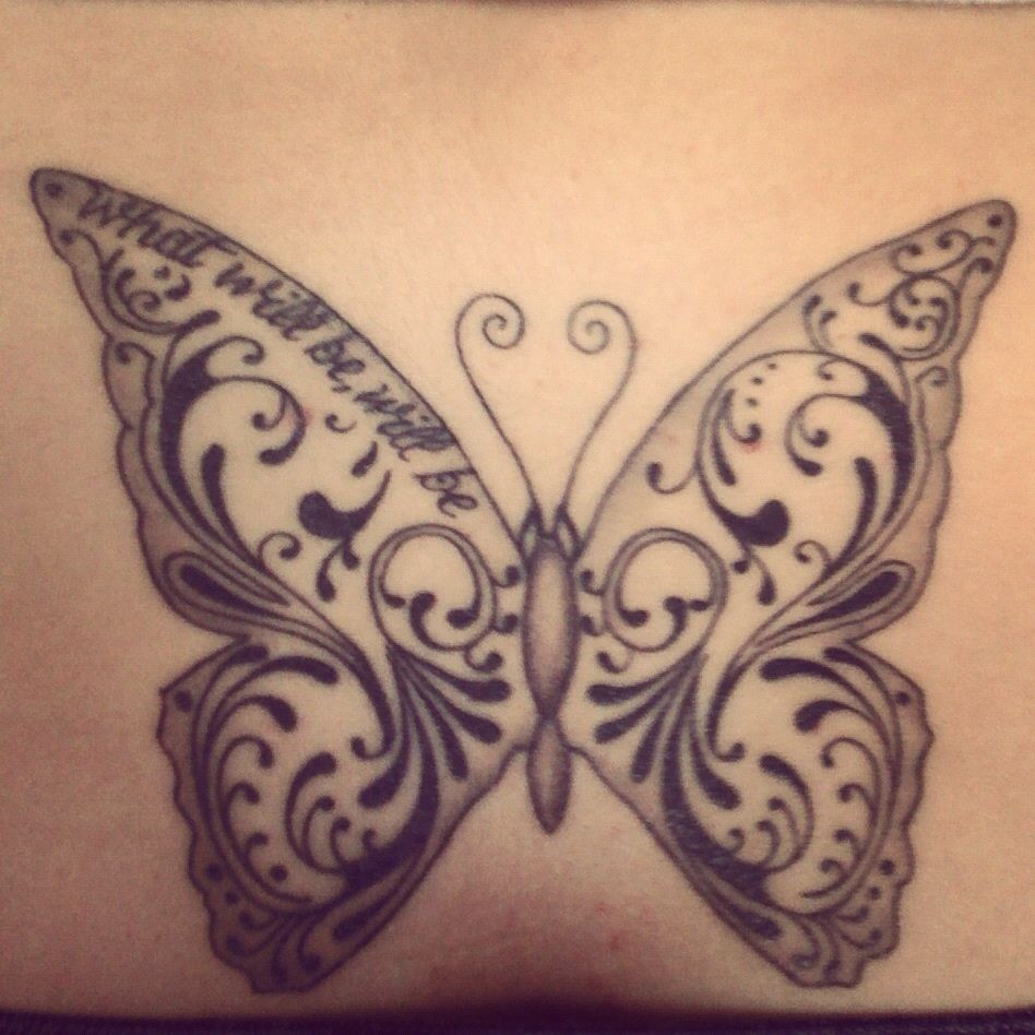 17+ Stunning Small black butterfly tattoo designs ideas in 2021