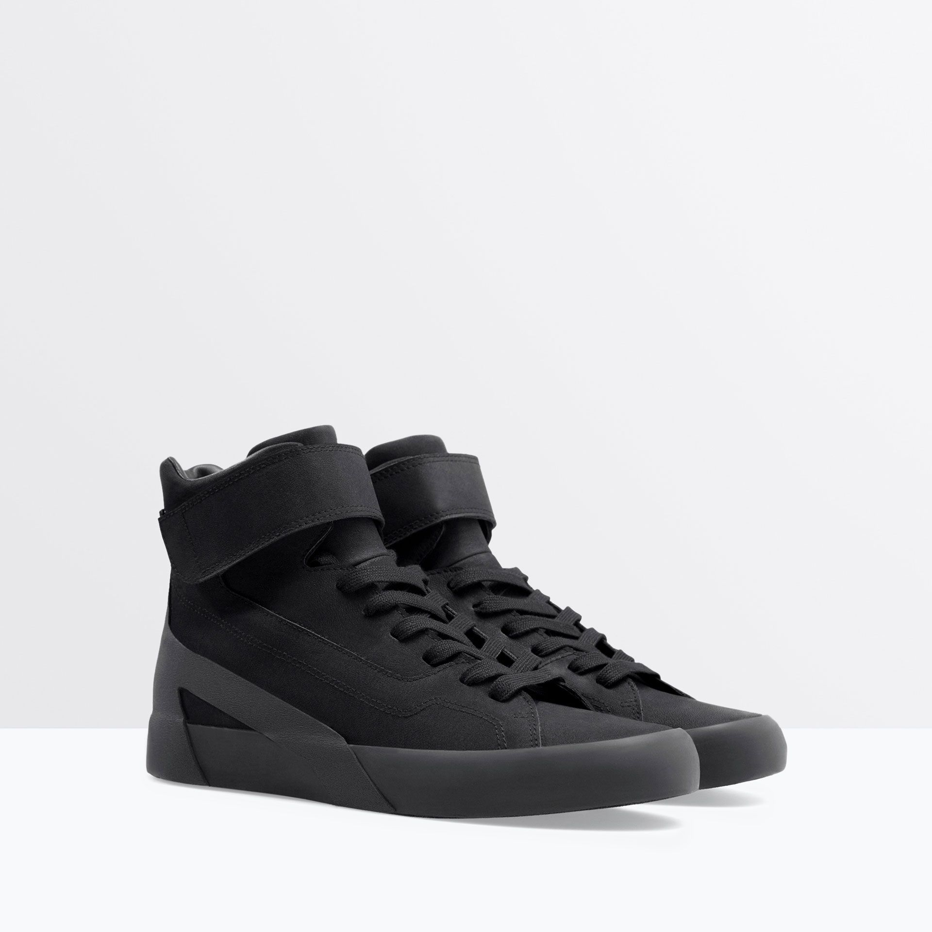 tout neuf f5583 80ce5 Image 3 of HIGH-TOPS WITH VELCRO from Zara | Stuff to Buy in ...
