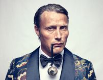 MADS MIKKELSEN, Editorial for L'Officiel Hommes Magazine, photography by Heiko Richard (https://www.behance.net/gallery/MADS-MIKKELSEN/11225789)